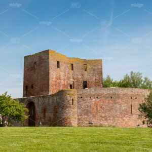 The ruin castle Teylingen in Sassenheim in the Netherlands