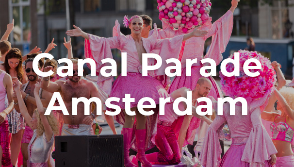 Amsterdam Gay Pride Canal Parade 2015 in the Netherlands